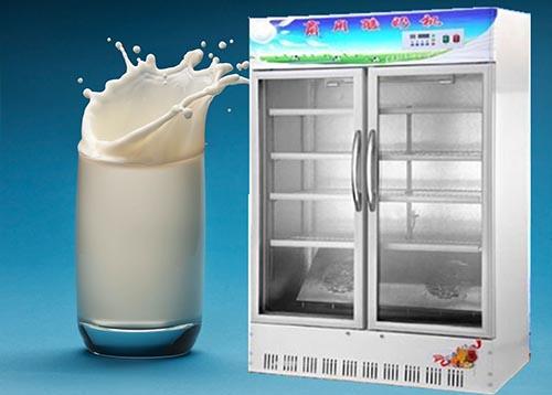 智能商用酸奶机 双开门